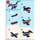 LEGO Fun Flyer Set 4038 Instructions