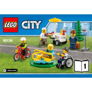 LEGO Fun in the Park - City People Pack Set 60134 Instructions