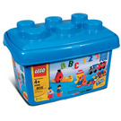 LEGO Fun With Building Set (Tub with 2 Minifigures) 4496-3