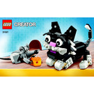 LEGO Furry Creatures Set 31021 Instructions