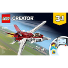 LEGO Futuristic Flyer Set 31086 Instructions
