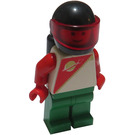 LEGO Futuron Red / Green Minifigure