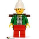 LEGO Gail Storm with Backpack Minifigure