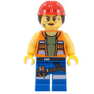 LEGO Gail the Construction Worker Minifigure