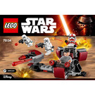 LEGO Galactic Empire Battle Pack Set 75134 Instructions