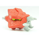 LEGO Galidor Head Ooni with Lime Eyes, Gray Fangs, and Gray Pin