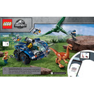 LEGO Gallimimus and Pteranodon Breakout Set 75940 Instructions