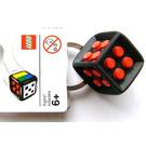 LEGO Games Black Die Keychain (2853383)