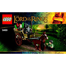 LEGO Gandalf Arrives Set 9469 Instructions