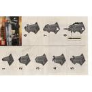 LEGO Gandalf at Dol Guldur Set 30213 Instructions