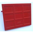 LEGO Garage Door with Transparent Counterweights (Old with Hinge Pins on Door)