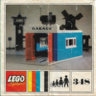 LEGO Garage with Automatic Doors Set 348-1 Instructions