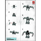 LEGO Garan Set 8724 Instructions