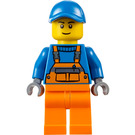 LEGO Garbage Collector Minifigure