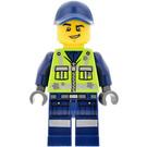 LEGO Garbage Man Dan Minifigure