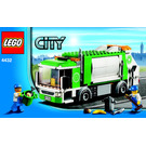 LEGO Garbage Truck Set 4432 Instructions