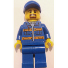 LEGO Garbage truck worker Minifigure