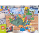 LEGO Gardening with Stripy Set 7437 Instructions
