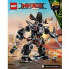 LEGO Garma Mecha Man Set 70613 Instructions