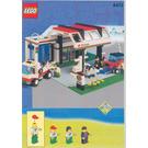 LEGO Gas N' Wash Express Set 6472 Instructions