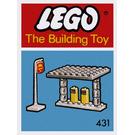 LEGO Gas Station Set 431-1
