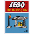LEGO Gas Station (The Building Toy) Set 431