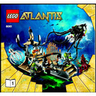 LEGO Gateway of the Squid Set 8061 Instructions