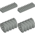LEGO Gear And Worm Racks Set 9854