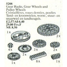 LEGO Gear Racks, Gear Wheels and Pulley Wheels Set 5266