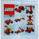 LEGO Gear set 810-3 Instructions
