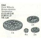 LEGO Gear Wheels Set 5262