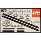 LEGO Gear Wheels with Chain Links Set 879