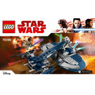 LEGO General Grievous' Combat Speeder Set 75199 Instructions