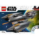 LEGO General Grievous's Starfighter Set 75286 Instructions