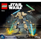 LEGO General Grievous Set 75112 Instructions