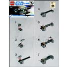 LEGO General Grievous' Starfighter Set 8033 Instructions