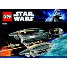 LEGO General Grievous' Starfighter Set 8095 Instructions