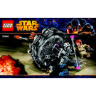 LEGO General Grievous' Wheel Bike Set 75040 Instructions