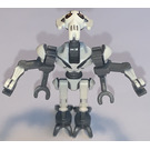 LEGO General Grievous with Dark Stone Gray Body and White Pattern Minifigure