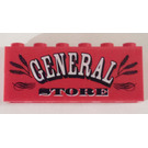 LEGO General Store - Sticker Over Assembly