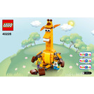 LEGO Geoffrey & Friends Set 40228 Instructions