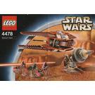 LEGO Geonosian Fighter Set Black Box 4478-1 Instructions