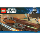 LEGO Geonosian Starfighter Set 7959 Instructions
