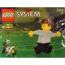 LEGO German Footballer Set 3317