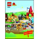 LEGO Giant Zoo Set 4960 Instructions
