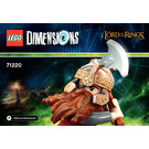 LEGO Gimli Fun Pack Set 71220 Instructions