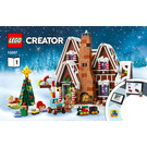 LEGO Gingerbread House Set 10267 Instructions