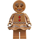 LEGO Gingerbread Woman Minifigure