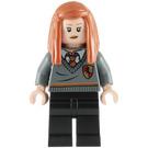 LEGO Ginny Weasley with Gryffindor School Uniform Minifigure