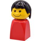 LEGO Girl Finger Puppet Basic Minifigure
